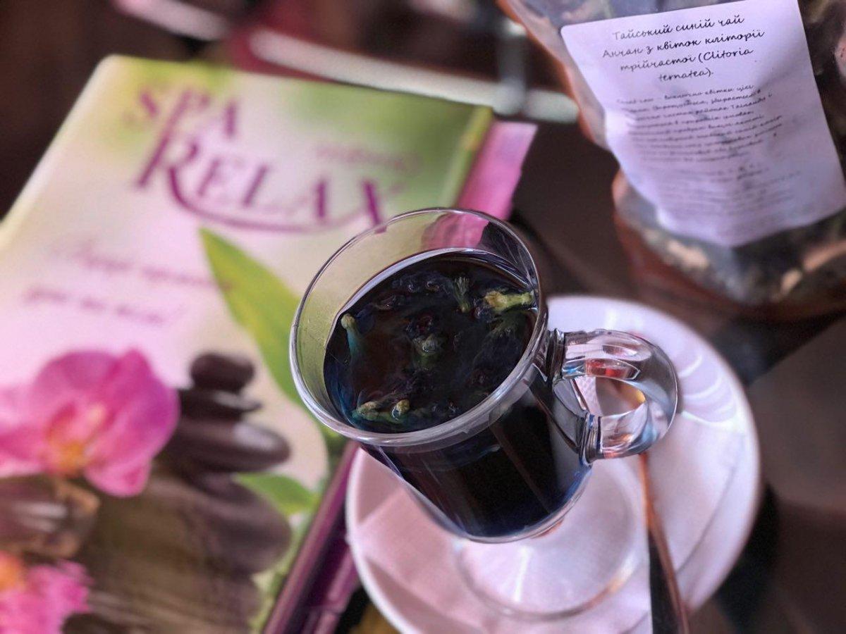 тайский чай после тайського массажа спа салон Спа Релакс
